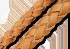 ウォレットロープ(オプション)は四つ編み、六つ編みの2種類をご用意